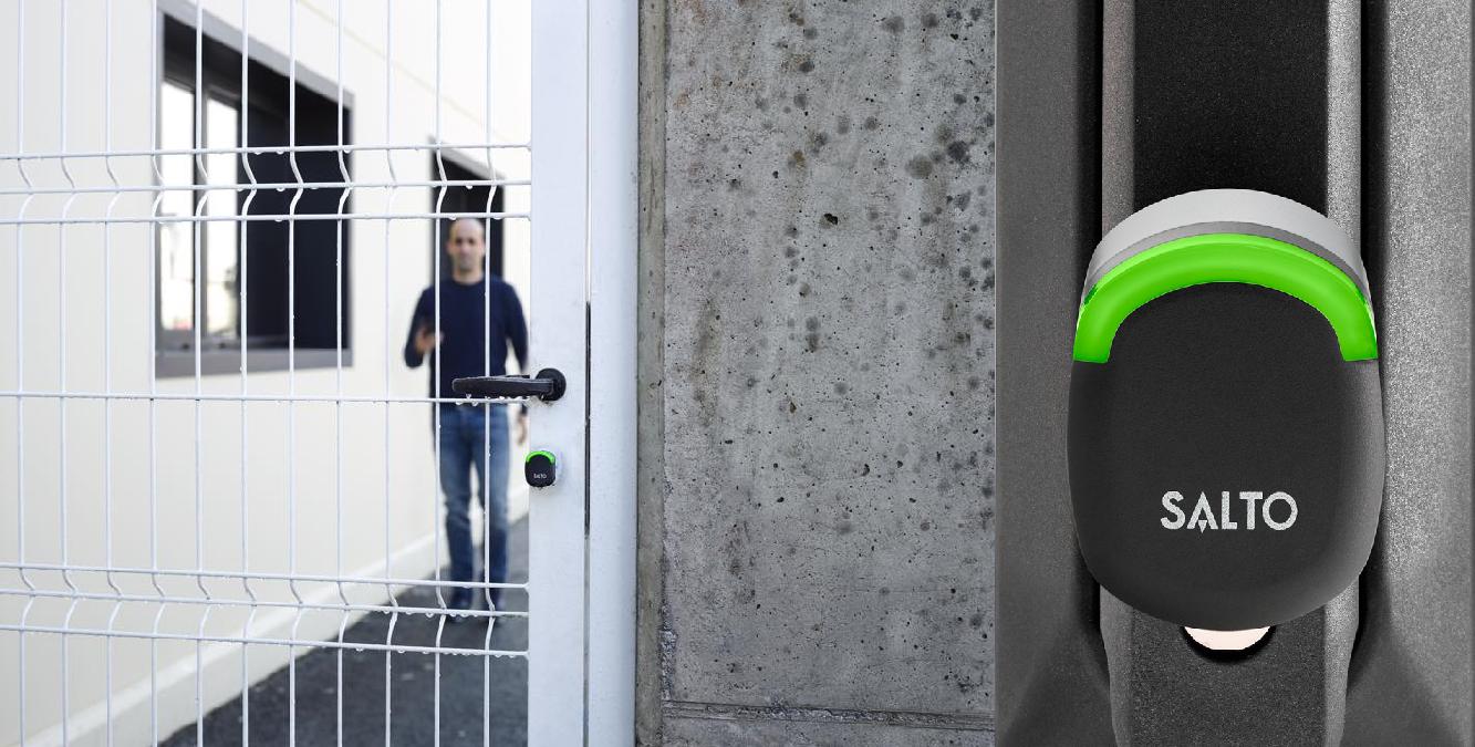 SALTO Neo: Розумний дверний циліндр.