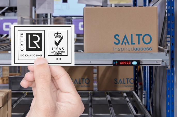 SALTO Systems. Досягнення в області екологічної безпеки.